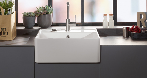ceramic sinks from the hands of a master. Black Bedroom Furniture Sets. Home Design Ideas