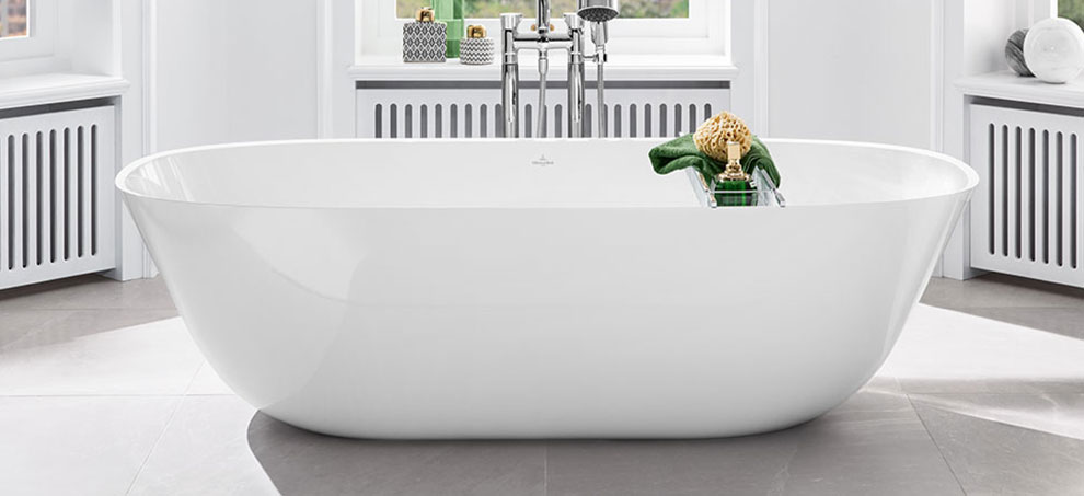 Delicieux ViFlow, The Innovative Mechanical Outlet And Overflow Fitting From Villeroy  U0026 Boch, Spares The Need For An Overflow Hole In The Bath.