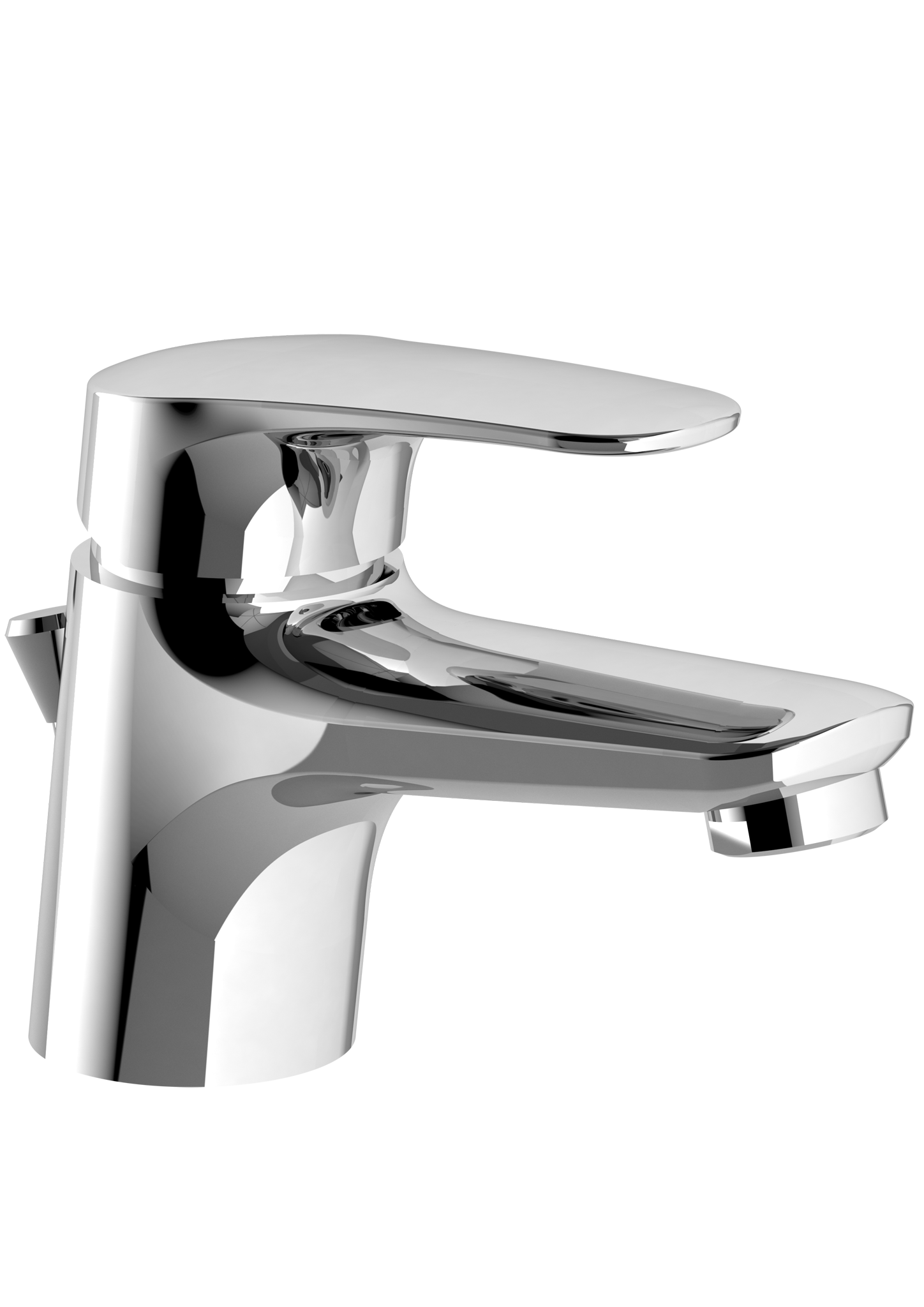O Novo Start Single Hole Basin Mixer
