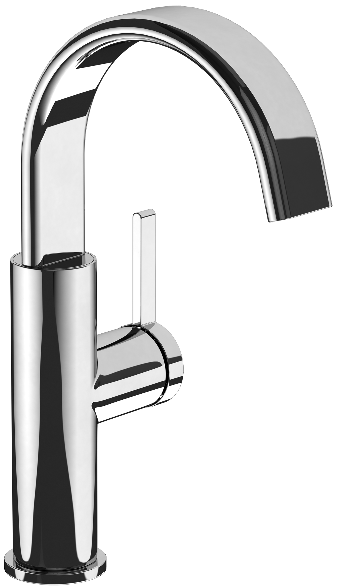 Dawn Single Hole Basin Mixer